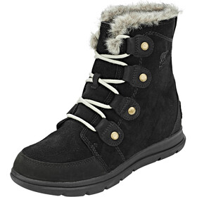 Sorel Expl**** Joan Laarzen Dames, black/dark stone